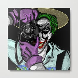The Joker Metal Print