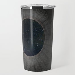 Looking up a Nuclear Cooling Tower Travel Mug