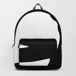 Nude silhouette figure - Nude black 002 Backpack