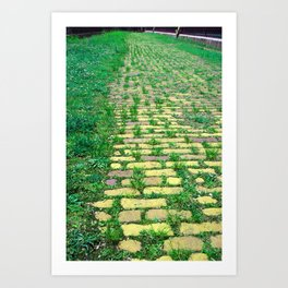 Yellow Brick Road Art Print