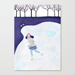 Skinny Love Canvas Print