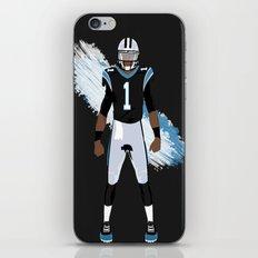 Keep Pounding - Cam Newton iPhone & iPod Skin