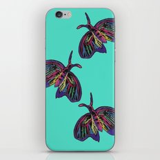Butterflies gradient  iPhone & iPod Skin