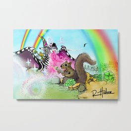 Epic Tail aka Stash Hero Metal Print