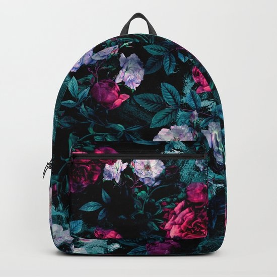 RPE FLORAL ABSTRACT III Backpack