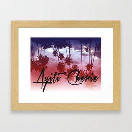 Ayiti Cherie Framed Art Print