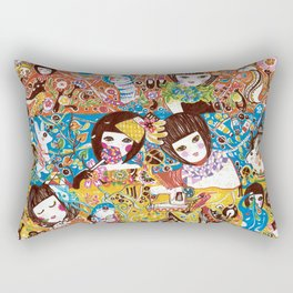 Colorful days Rectangular Pillow