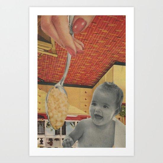 Baby Food Art Print
