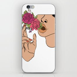 Floral Emission iPhone Skin