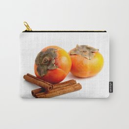 Persimmon Cinnamon Carry-All Pouch