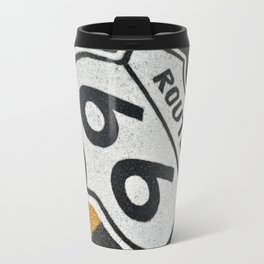 The mythical Route 66 sign. Travel Mug