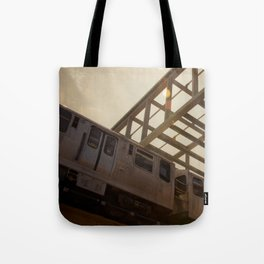 The Pink Line Tote Bag