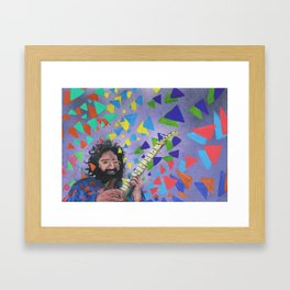The Greatest Man To Ever Live Framed Art Print