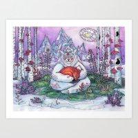 Fox Spirit Art Print