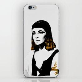 black & gold Cleo iPhone Skin