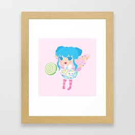 Sweet Fairy Framed Art Print