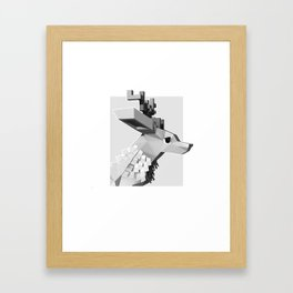 Deer you Framed Art Print