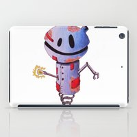 robot iPad Cases featuring Robot by Ciotti