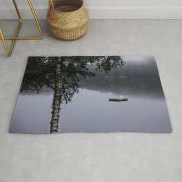 cottage life by the lake Rug