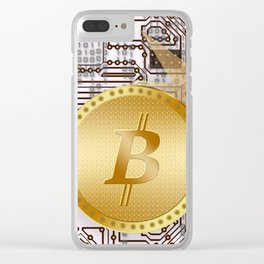 Bitcoin 14 Clear iPhone Case