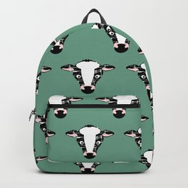 Cute Cow Face pattern Backpack