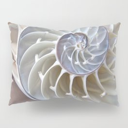Nautilus Shell Pillow Sham