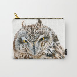 Short-Eared Owl by Teresa Thompson Carry-All Pouch