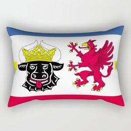 Flag of Mecklenburg-Vorpommern (Mecklenburg-West Pomerania) Rectangular Pillow
