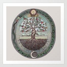 Origins Tree of Life Art Print