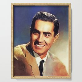 Tyrone Power, Vintage Actor Serving Tray