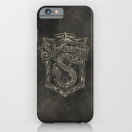 Slytherin House iPhone Case