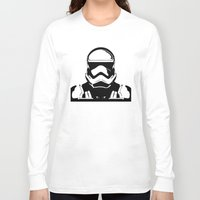 trooper Long Sleeve T-shirts featuring Trooper  by Rabassa