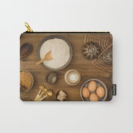 Basic baking ingredients Carry-All Pouch