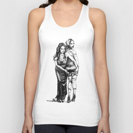 Festive Girlfriends. Yury Fadeev© Unisex Tank Top