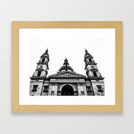 St. Stephen's Basilica. Framed Art Print