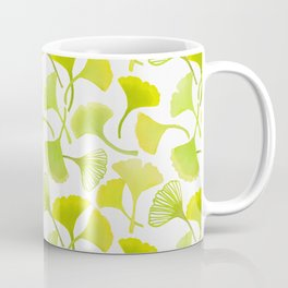 First Day of Autumn Ginkgo Leaves Coffee Mug