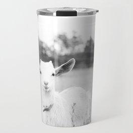 Angelic baby goat Travel Mug