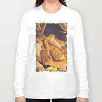 bread Long Sleeve T-shirts featuring Bread by Richard McGee