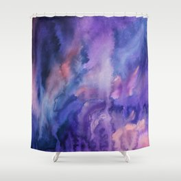 ON HOLD Watercolour Shower Curtain