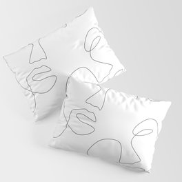 Face Appearance Pillow Sham