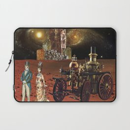 Victorian Vacation: Red Planet Laptop Sleeve