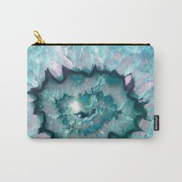 Teal Agate Carry-All Pouch