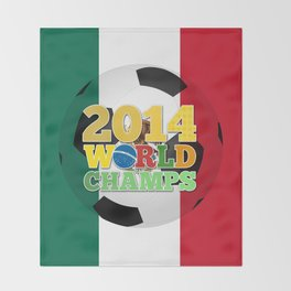 2014 World Champs Ball - Mexico Throw Blanket