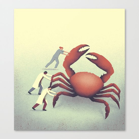 The big crab Canvas Print