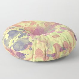 Color Splash Floor Pillow