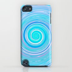 Re-Created Spin Painting (Sea) by Robert S. Lee Slim Case iPod touch