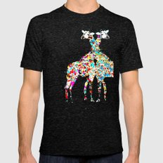 someone like you (animals Mens Fitted Tee Tri-Black X-LARGE