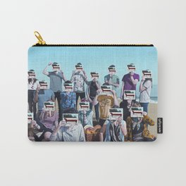 The Wombats Proudly Present... This Modern Glitch Carry-All Pouch