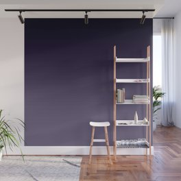 Ombre Ultra Violet Dark Purple Wall Mural