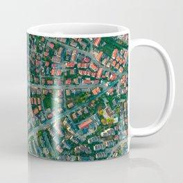 Farm vs City Aerial (Color) Coffee Mug